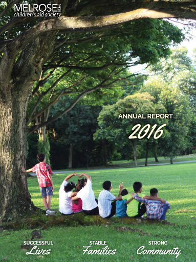 Children's Aid Society 2016 Annual Report